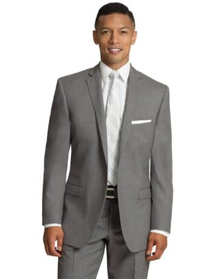 Grey Valencia Suit by Black Label