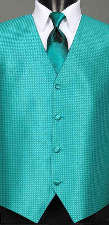 Jade Devon Vest with Jade Ombre Windsor Tie