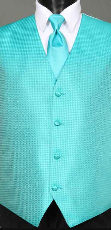 Mermaid Devon Vest with Matching Windsor tie