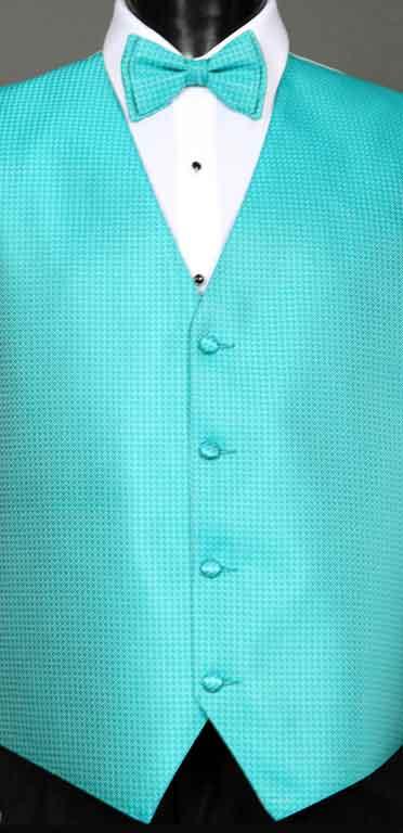 Mermaid Devon Vest with matching bow tie