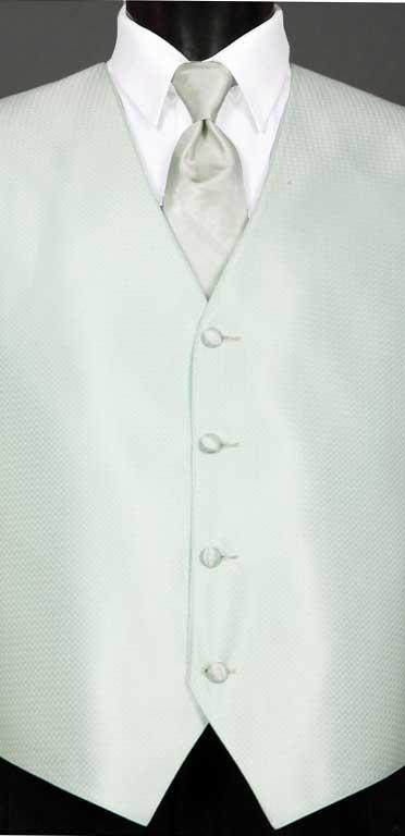 Pistachio Devon vest with Pistachio Ombre Windsor Tie