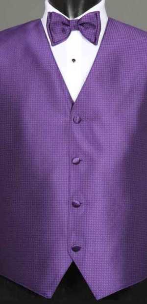 Regency Devon vest with matching bow tie
