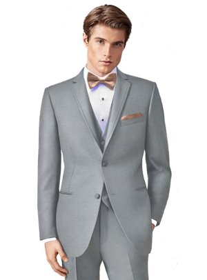 Stone Grey Brooklyn Tuxedo by Ike Behar