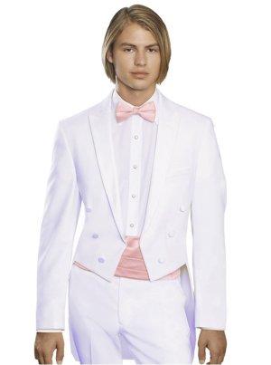 White Full Dress Tails