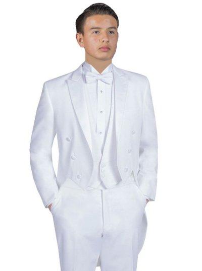 White Hollywood Full Dress Tails