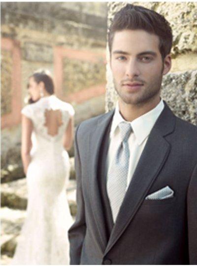 Charcoal Grey Bartlett Suit