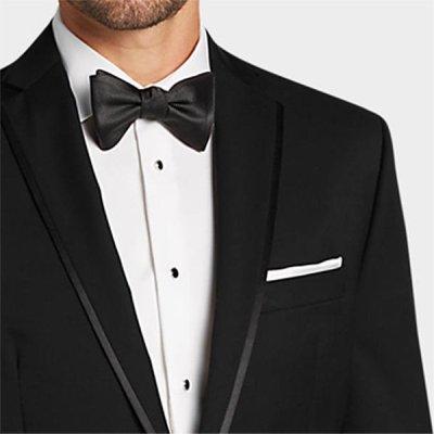 Michael Kors Obsession Tuxedo lapel closeup