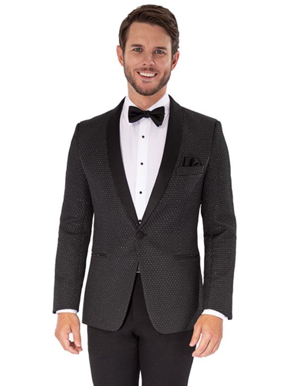 Austin Diamond Weave tuxedo by Marks of Distinction