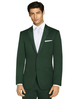 Hunter Green Luca Suit by Ike Behar