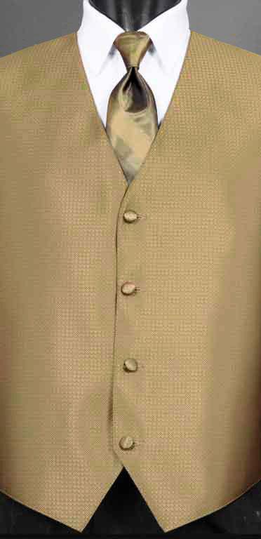 Bronze Devon Vest with Bronze Ombre Windsor Tie