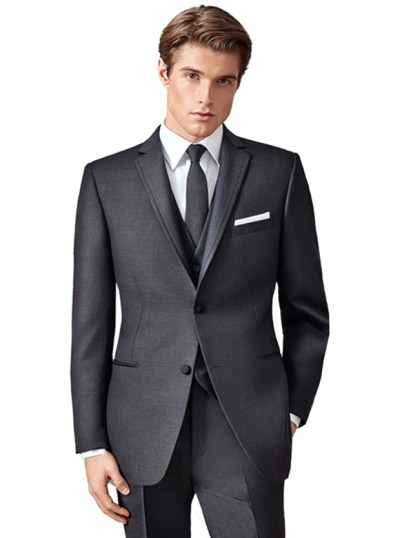 Charcoal Manhattan Suit