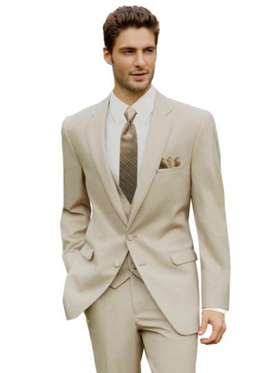 Tan Bartlett Suit by Allure Men