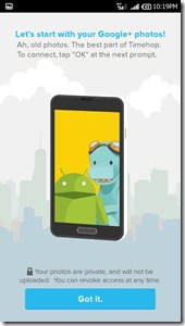 Review Timehop aplikasi mesin waktu di Android Tuxlin Blog05