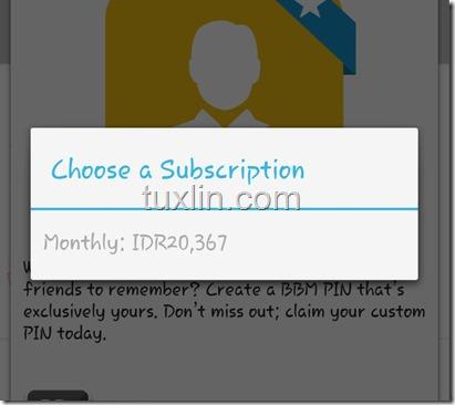 Custom PIN BBM Tuxlin Blog04
