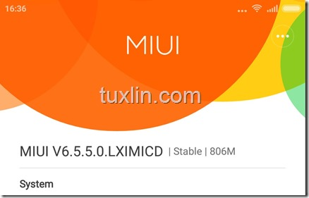 Screenshot Update Xiaomi Mi 4i Tuxlin Blog01
