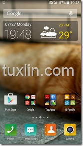 Screenshots Review BenQ B502 Tuxlin Blog18