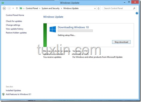 Screenshots Upgrade Windows 10 Tuxlin Blog02
