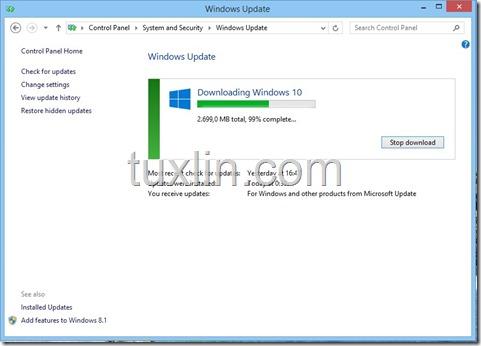 Screenshots Upgrade Windows 10 Tuxlin Blog04
