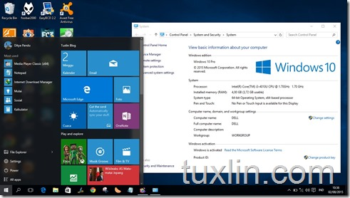 Screenshots Upgrade Windows 10 Tuxlin Blog10