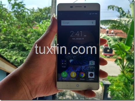 ZTE Blade A711, Ponsel 4G LTE dengan Fingerprint Sensor