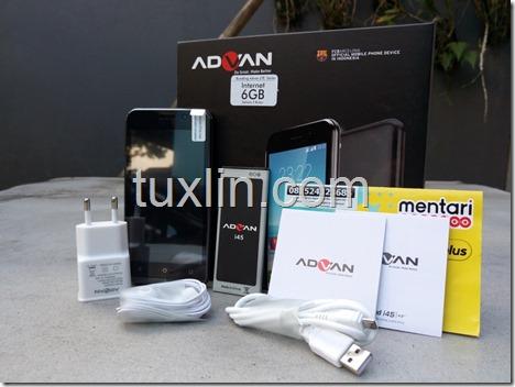 Paket Penjualan Advan i45