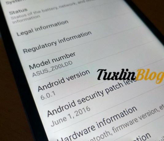 Cara Update Android Marshmallow di Asus Zenfone 2 Laser ZE550KL