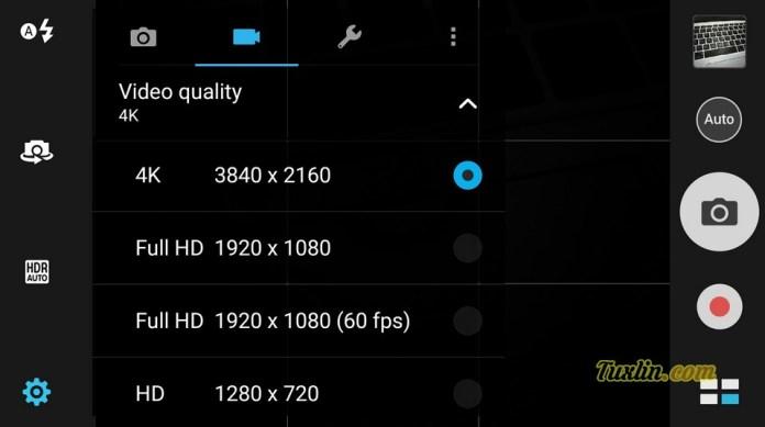 Antarmuka Kamera Asus Zenfone 3 ZE520KL