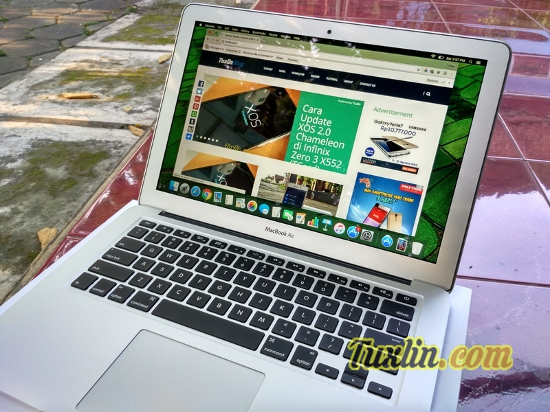 Review Apple Macbook Air MMGF2