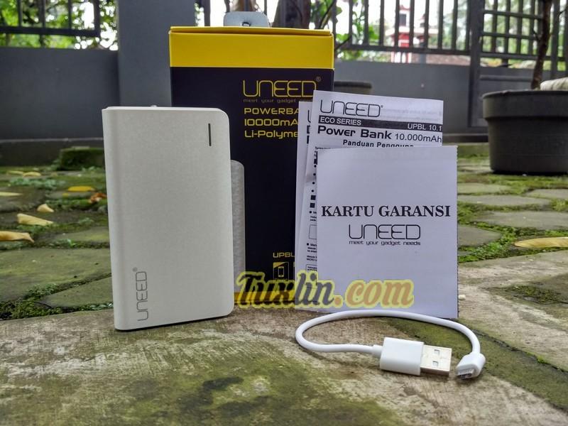 Paket Penjualan Uneed UPBL-10.1 10.000mAh