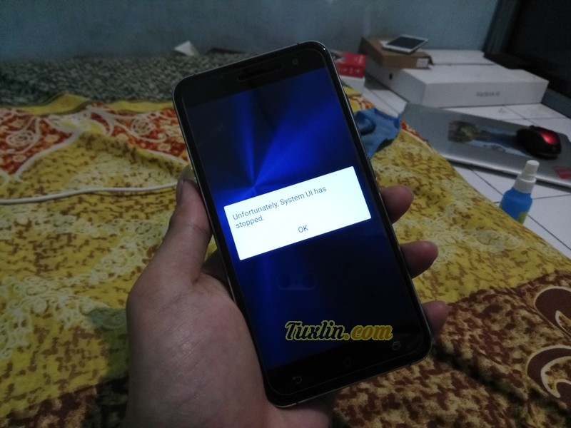 Unfortunately System UI Has Stopped di Asus Zenfone 3