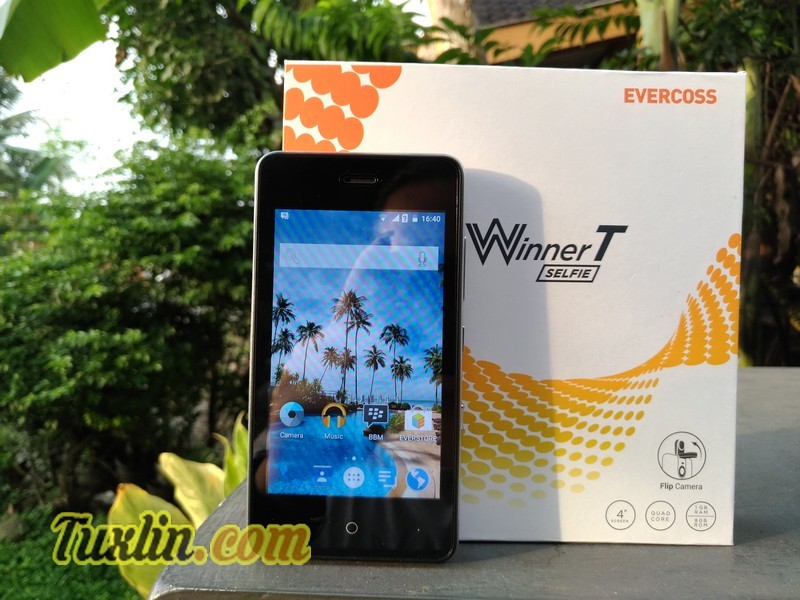 Review Evercoss Winner T Selfie R40H Flip Amp Shot