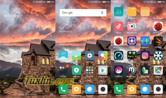 Antarmuka & Fitur Xiaomi Redmi 4A