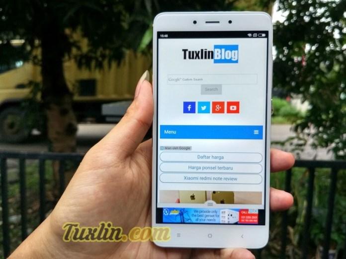 Mencoba Xiaomi Redmi Note 4