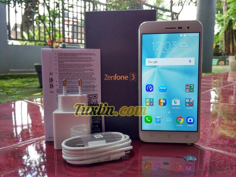 Paket Penjualan Asus Zenfone 3 ZE520KL Moonlight White