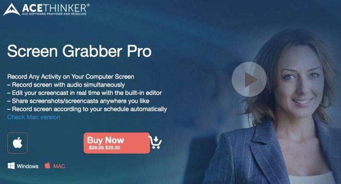 Review Acethinker Screen Grabber Pro: Screen Recorder Keren untuk Mac