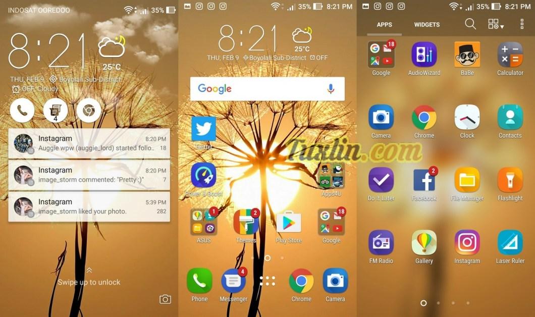 Antarmuka & Fitur Asus Zenfone 3 Max ZC553KL