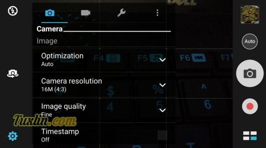 Antarmuka & Fitur Kamera Asus Zenfone 3 Max ZC553KL
