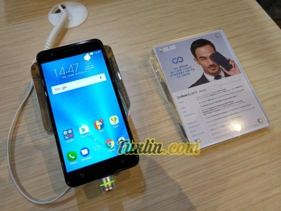 Hands On Asus Zenfone Zoom S ZE553KL di Zenfinity 2017