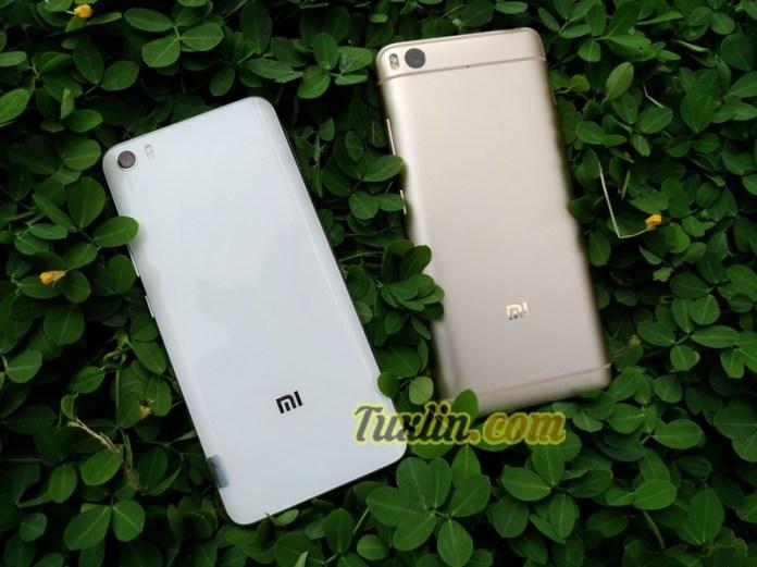Desain Xiaomi Mi5, Xiaomi Mi 5S vs Xiaomi Mi 5C