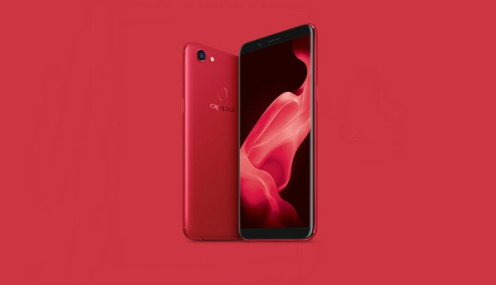 Oppo F5 RAM 6GB Red