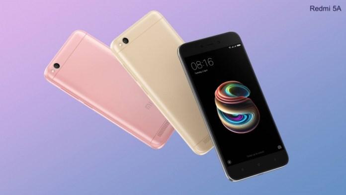 Harga dan Spesifikasi Xiaomi Redmi 5A