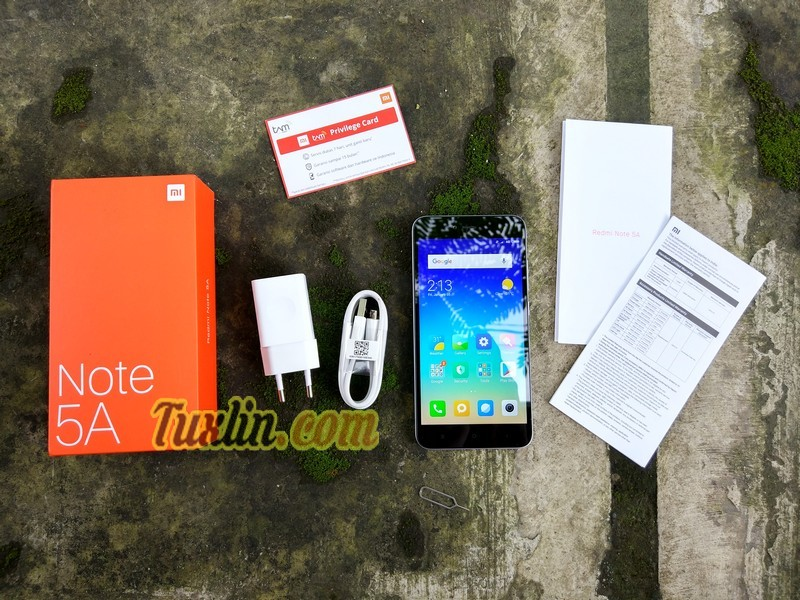 Paket PenjualanXiaomi Redmi Note 5A