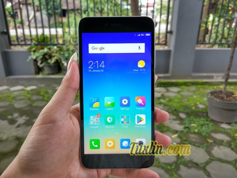 Hands On Xiaomi Redmi Note 5A Grey