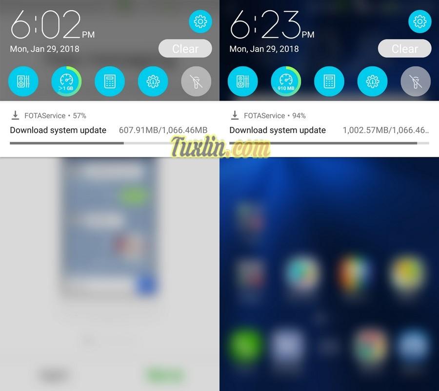 Langkah & Cara Upgrade Android 8.0 Oreo diAsus Zenfone 3 ZE520KL