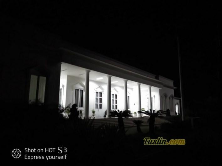 Hasil Foto Kamera Infinix Hot S3 X573 Malam Hari