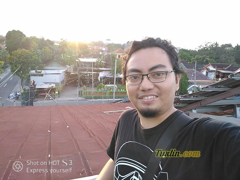 Hasil Foto Kamera Depan Infinix Hot S3 X573 Siang Hari