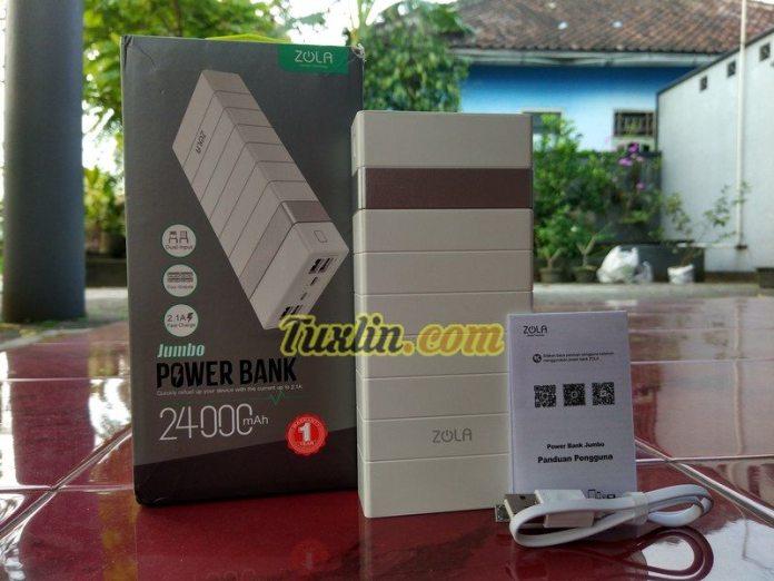 Paket PenjualanZola Jumbo 24000mAh