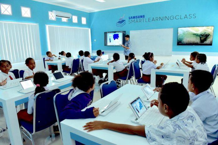 Samsung Smart Learning Class (SSLC), Sekolah Berbasis Teknologi Dibuka di Biak Papua 2