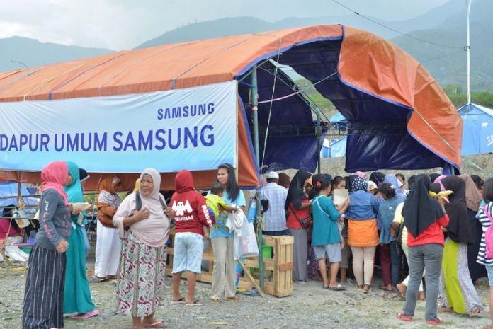 Dirikan Dua Posko, Samsung Peduli Sulawesi Tengah Siap Bantu Masa Pemulihan Bencana 3