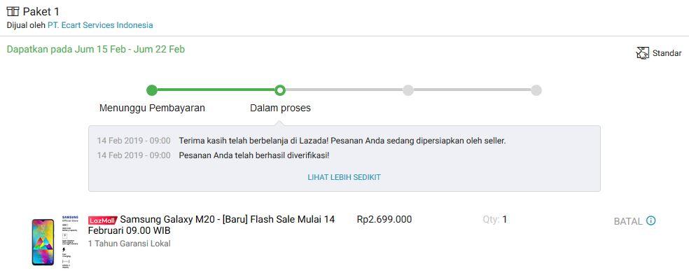 Iseng Ikutan Flash Sale Samsung Galaxy M20, Bagus Nggak Ya? 4